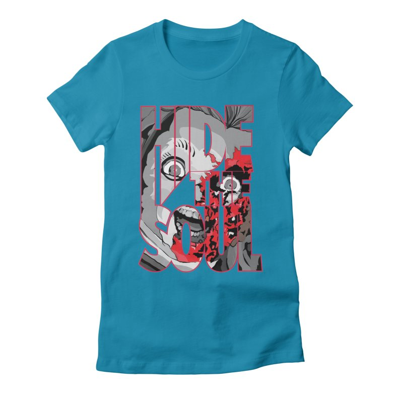 Hide The Soul Women's Fitted T-Shirt by Cold Lantern Collection