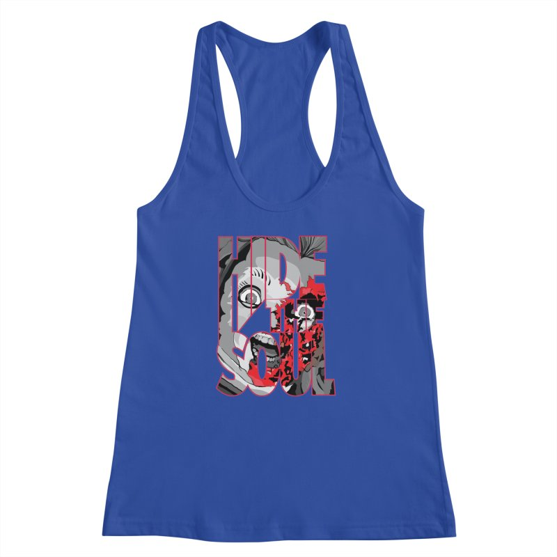 Hide The Soul Women's Racerback Tank by Cold Lantern Collection