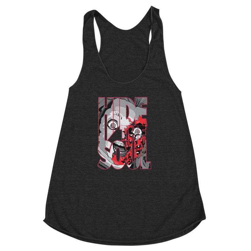 Hide The Soul Women's Racerback Triblend Tank by Cold Lantern Collection