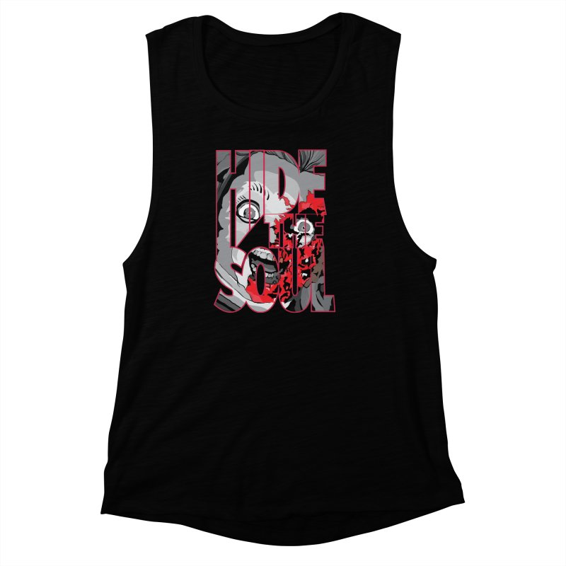 Hide The Soul Women's Muscle Tank by Cold Lantern Collection