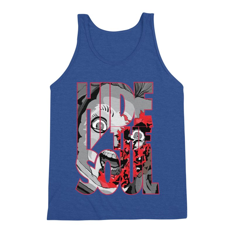 Hide The Soul Men's Triblend Tank by Cold Lantern Collection