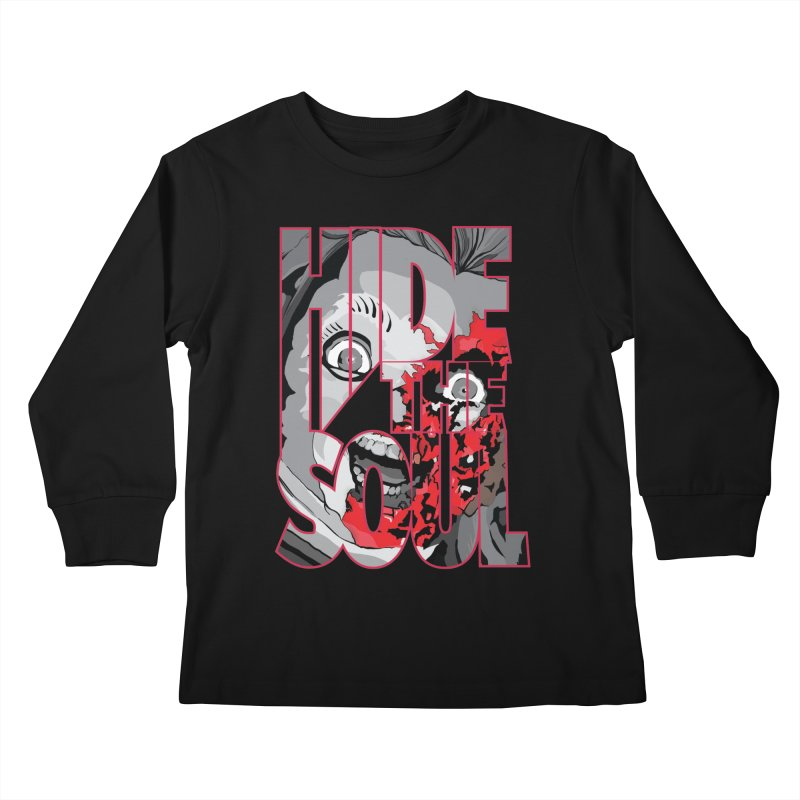 Hide The Soul Kids Longsleeve T-Shirt by Cold Lantern Collection