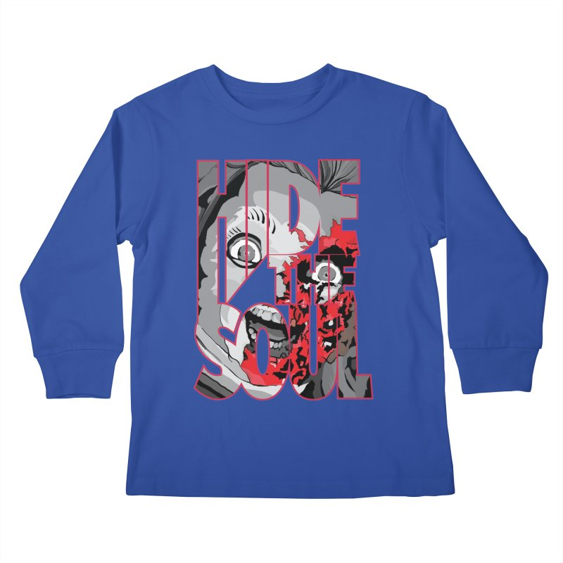 Hide The Soul Kids Longsleeve T-Shirt by Cold Lantern Design