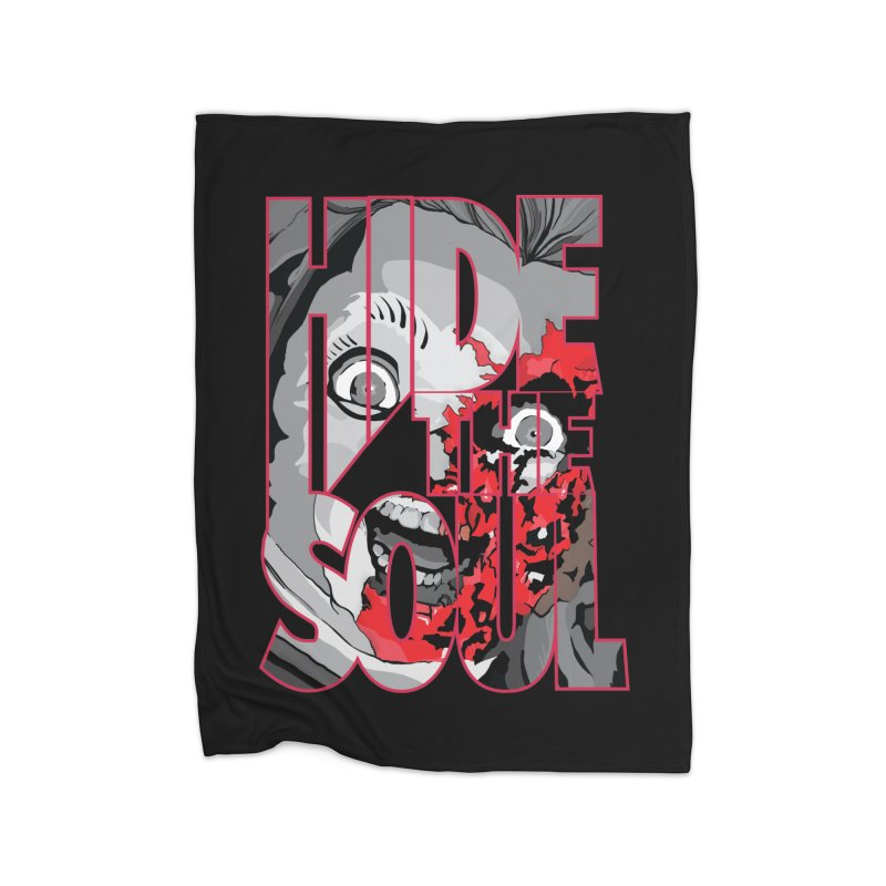 Hide The Soul Home Fleece Blanket Blanket by Cold Lantern Collection
