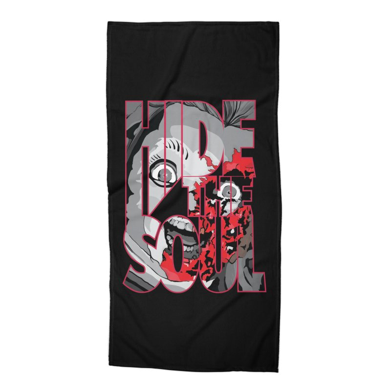 Hide The Soul Accessories Beach Towel by Cold Lantern Design