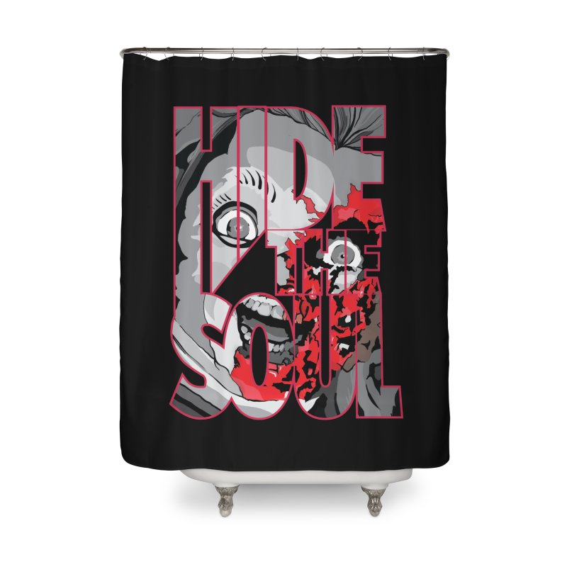 Hide The Soul Home Shower Curtain by Cold Lantern Collection