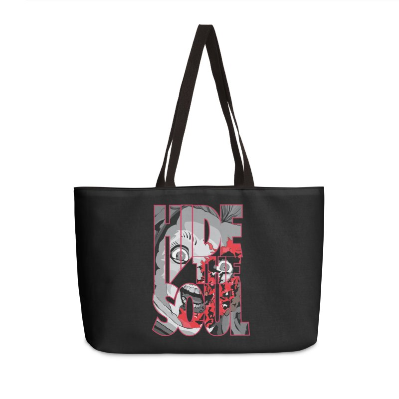 Hide The Soul Accessories Weekender Bag Bag by Cold Lantern Design