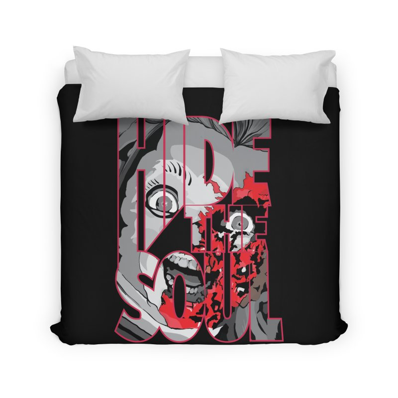 Hide The Soul Home Duvet by Cold Lantern Collection
