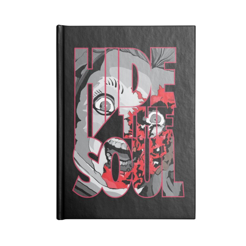 Hide The Soul Accessories Blank Journal Notebook by Cold Lantern Design