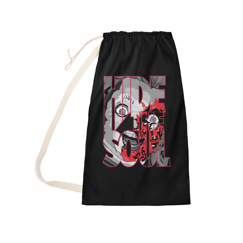 Hide The Soul Accessories Laundry Bag Bag by Cold Lantern Collection