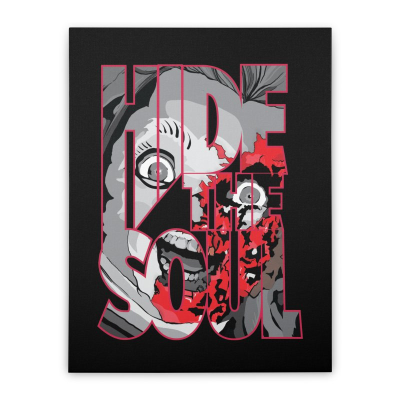 Hide The Soul Home Stretched Canvas by Cold Lantern Design