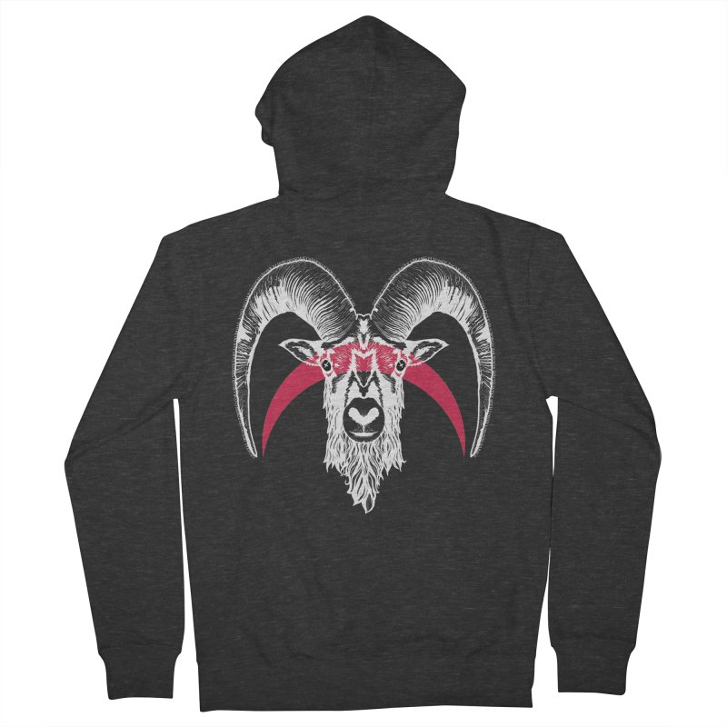 Black XI Women's French Terry Zip-Up Hoody by Cold Lantern Collection