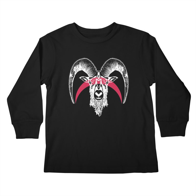 Black XI Kids Longsleeve T-Shirt by Cold Lantern Collection