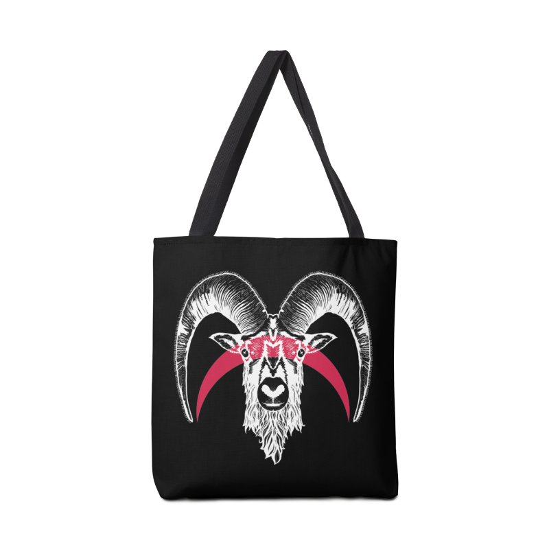 Black XI Accessories Tote Bag Bag by Cold Lantern Design