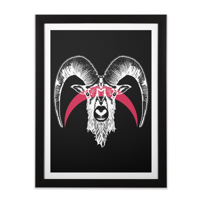 Black XI Home Framed Fine Art Print by Cold Lantern Collection