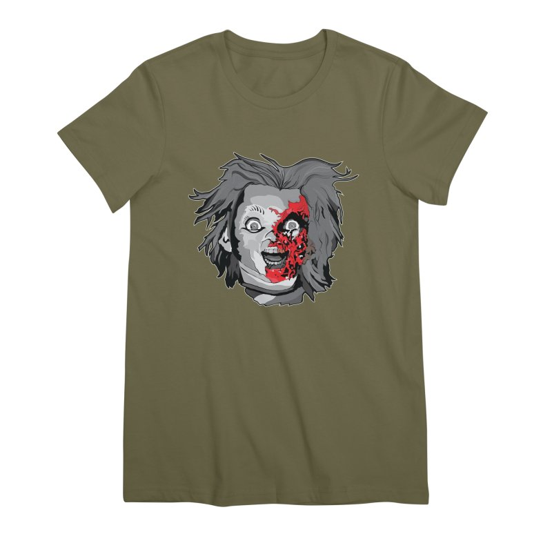Hide the Soul (CHUCKY ONLY) Women's Premium T-Shirt by Cold Lantern Collection