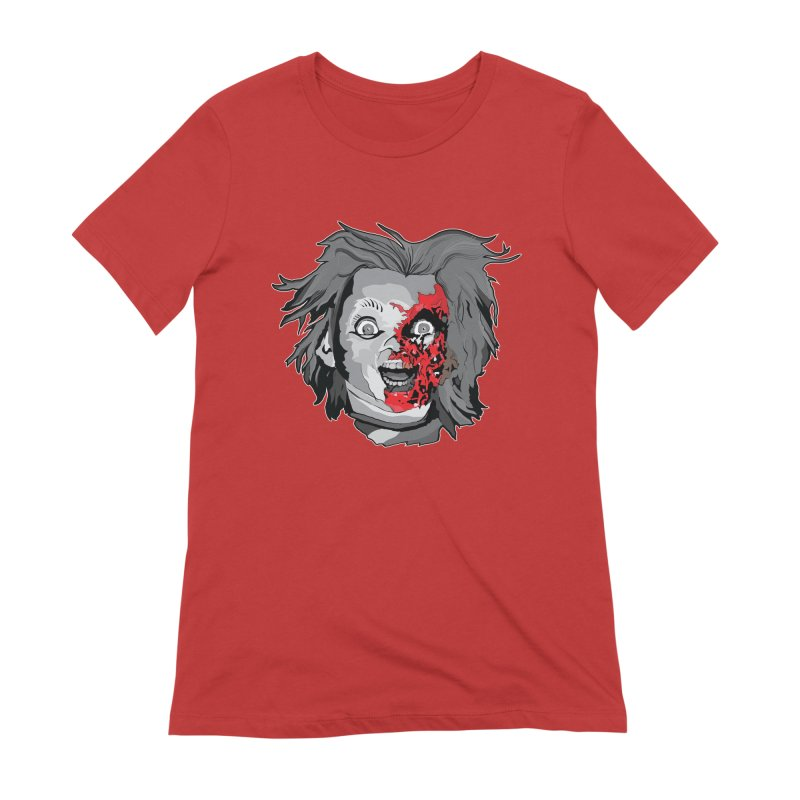 Hide the Soul (CHUCKY ONLY) Women's Extra Soft T-Shirt by Cold Lantern Collection