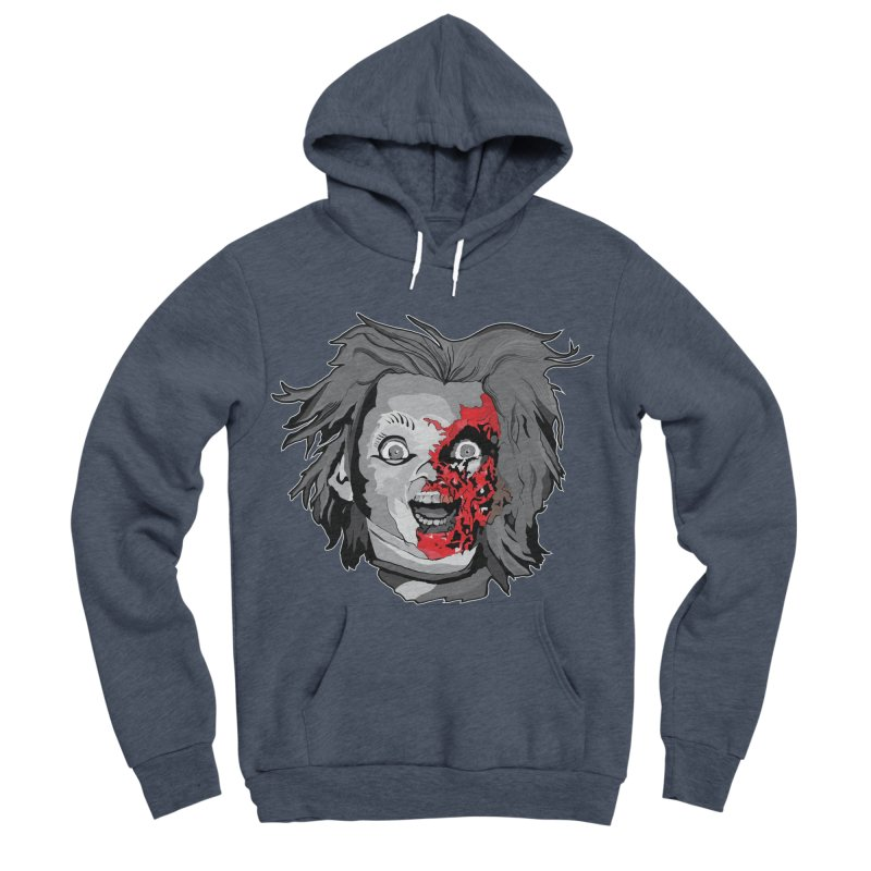 Hide the Soul (CHUCKY ONLY) Men's Sponge Fleece Pullover Hoody by Cold Lantern Collection
