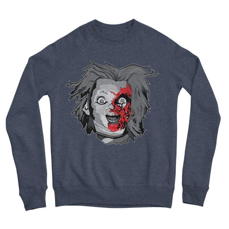 Hide the Soul (CHUCKY ONLY) Men's Sponge Fleece Sweatshirt by Cold Lantern Collection