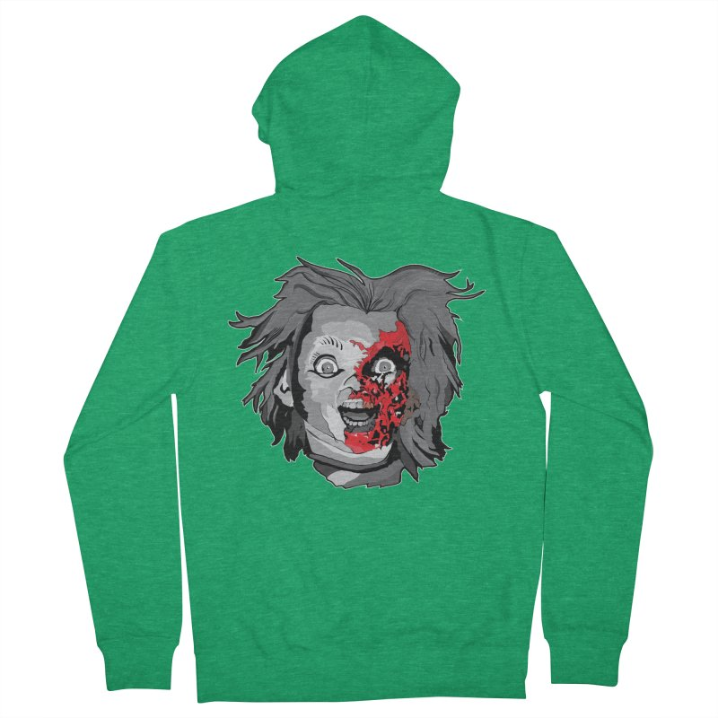 Hide the Soul (CHUCKY ONLY) Women's Zip-Up Hoody by Cold Lantern Collection