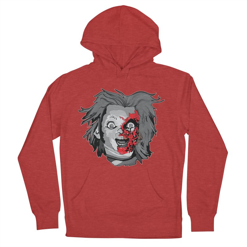 Hide the Soul (CHUCKY ONLY) Women's French Terry Pullover Hoody by Cold Lantern Collection