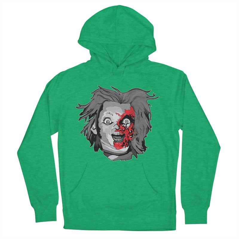 Hide the Soul (CHUCKY ONLY) Men's French Terry Pullover Hoody by Cold Lantern Design
