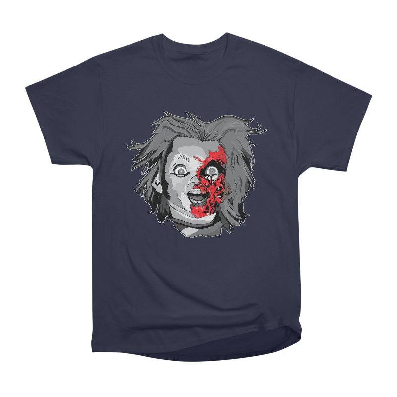 Hide the Soul (CHUCKY ONLY) Women's Heavyweight Unisex T-Shirt by Cold Lantern Design