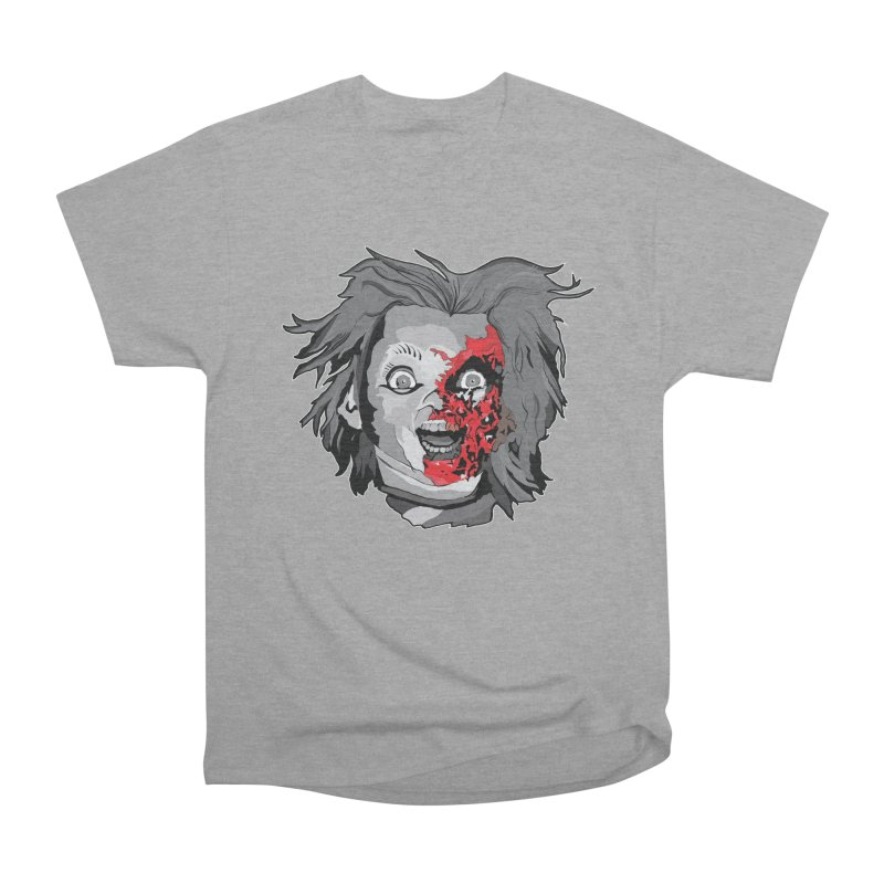 Hide the Soul (CHUCKY ONLY) Men's Heavyweight T-Shirt by Cold Lantern Collection