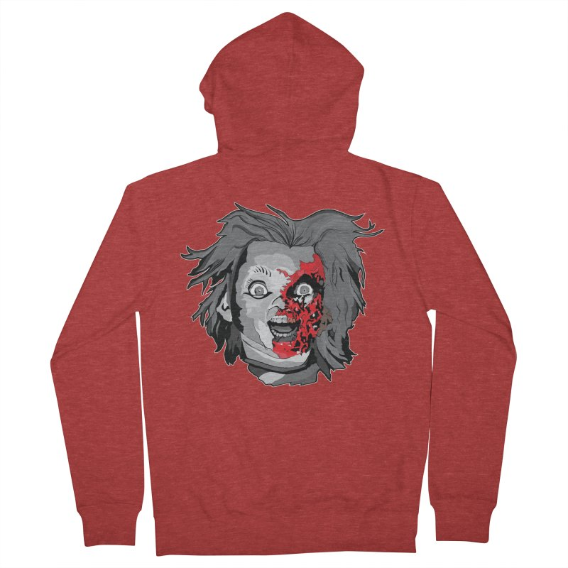 Hide the Soul (CHUCKY ONLY) Women's French Terry Zip-Up Hoody by Cold Lantern Collection