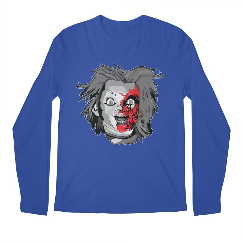 Hide the Soul (CHUCKY ONLY) Men's Regular Longsleeve T-Shirt by Cold Lantern Collection