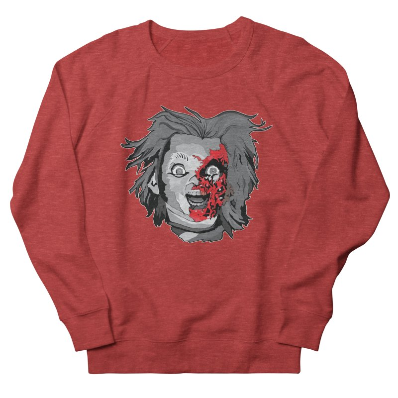 Hide the Soul (CHUCKY ONLY) Women's French Terry Sweatshirt by Cold Lantern Design