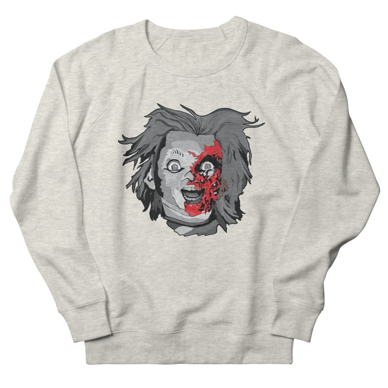 Hide the Soul (CHUCKY ONLY) Men's French Terry Sweatshirt by Cold Lantern Design