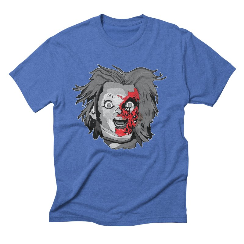Hide the Soul (CHUCKY ONLY) Men's Triblend T-Shirt by Cold Lantern Collection