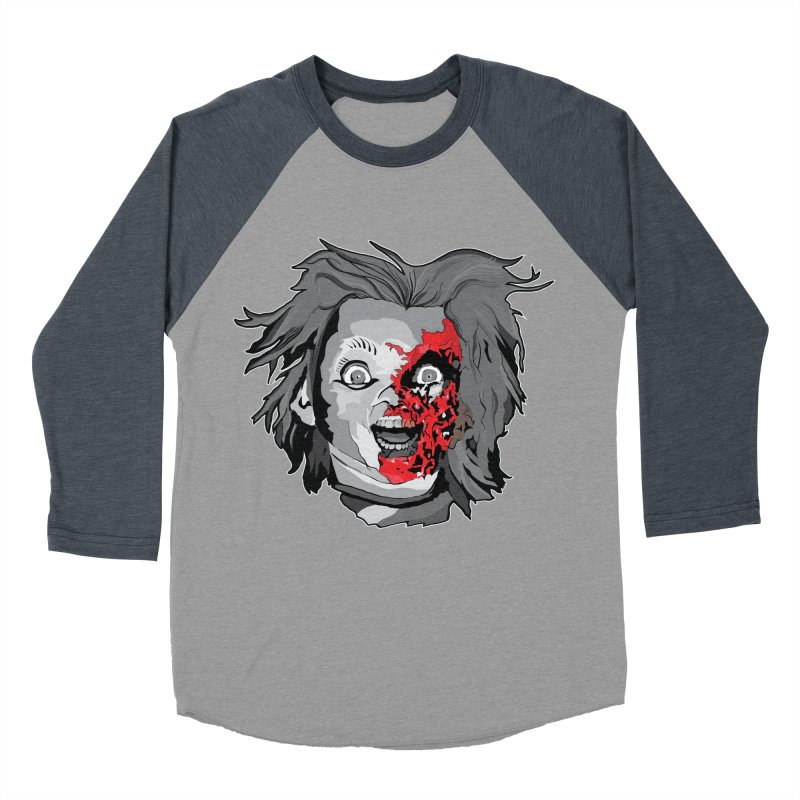 Hide the Soul (CHUCKY ONLY) Women's Baseball Triblend Longsleeve T-Shirt by Cold Lantern Collection