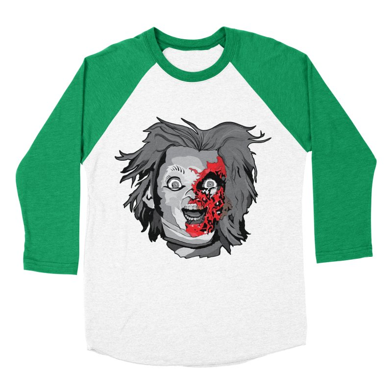 Hide the Soul (CHUCKY ONLY) Men's Baseball Triblend Longsleeve T-Shirt by Cold Lantern Collection