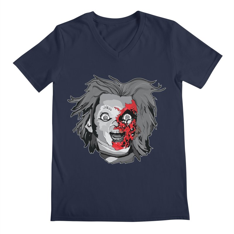 Hide the Soul (CHUCKY ONLY) Men's Regular V-Neck by Cold Lantern Collection