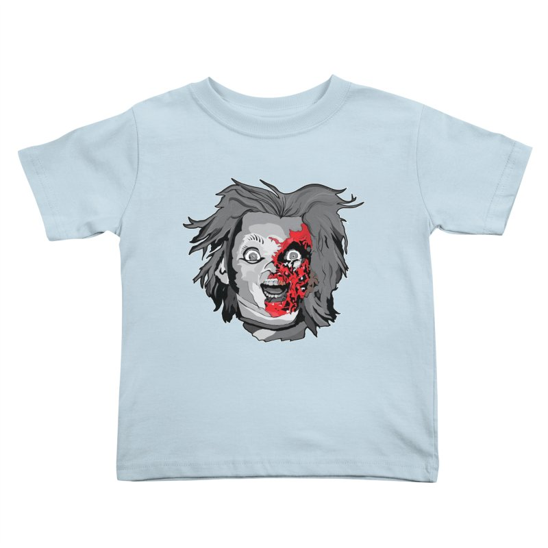 Hide the Soul (CHUCKY ONLY) Kids Toddler T-Shirt by Cold Lantern Collection