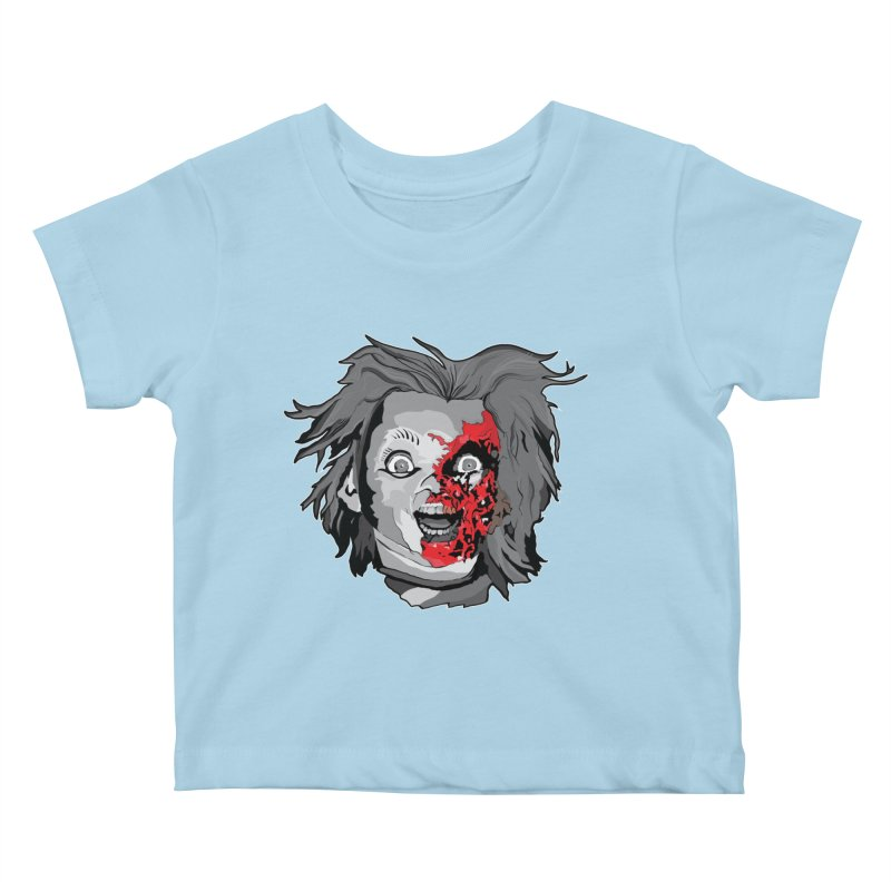 Hide the Soul (CHUCKY ONLY) Kids Baby T-Shirt by Cold Lantern Collection