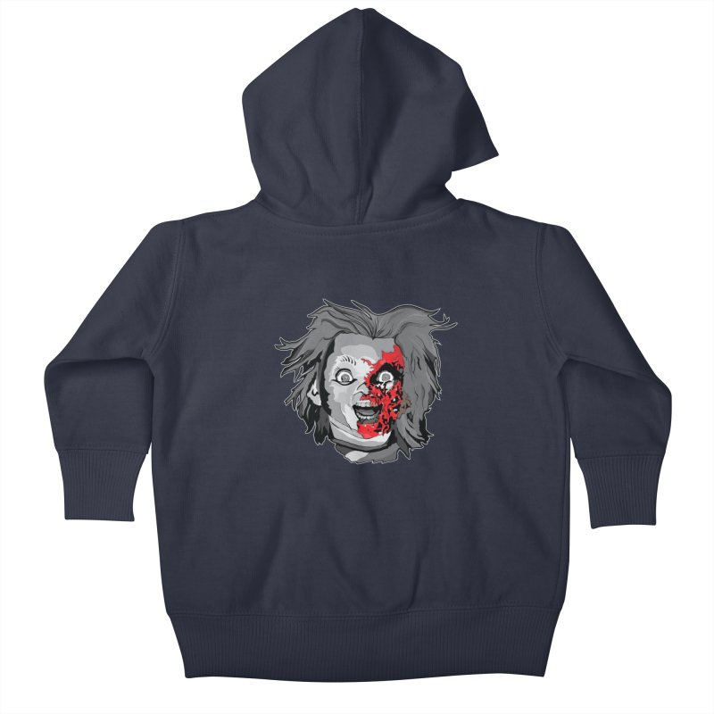 Hide the Soul (CHUCKY ONLY) Kids Baby Zip-Up Hoody by Cold Lantern Collection