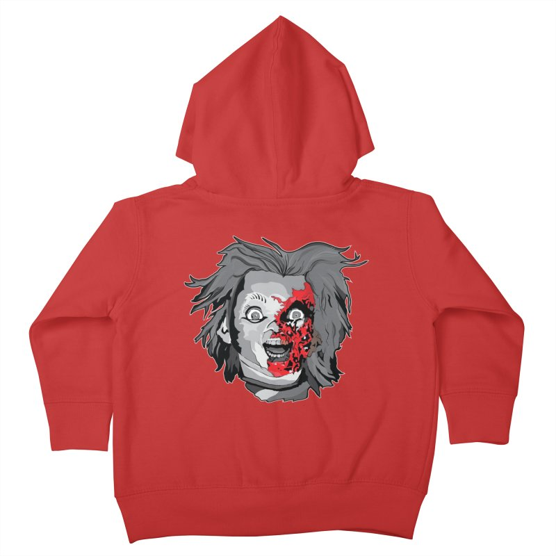 Hide the Soul (CHUCKY ONLY) Kids Toddler Zip-Up Hoody by Cold Lantern Collection