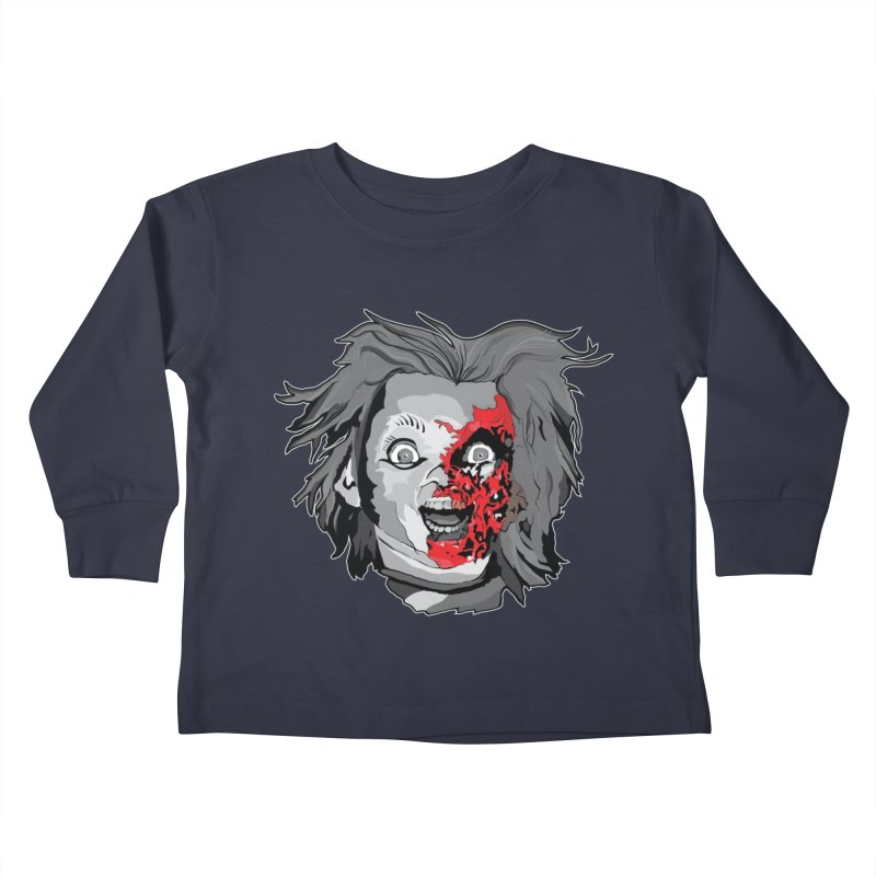 Hide the Soul (CHUCKY ONLY) Kids Toddler Longsleeve T-Shirt by Cold Lantern Collection