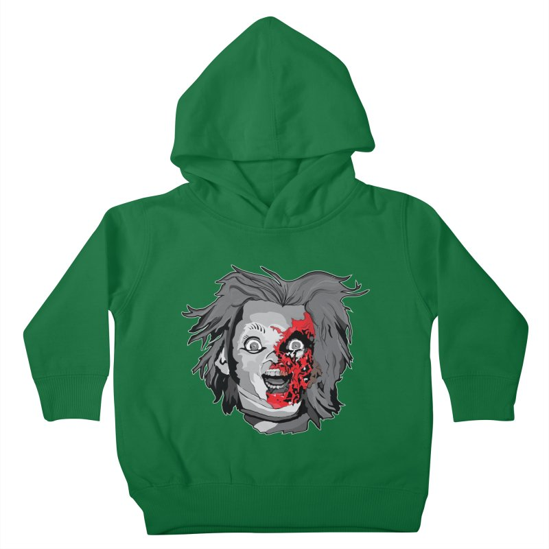 Hide the Soul (CHUCKY ONLY) Kids Toddler Pullover Hoody by Cold Lantern Collection