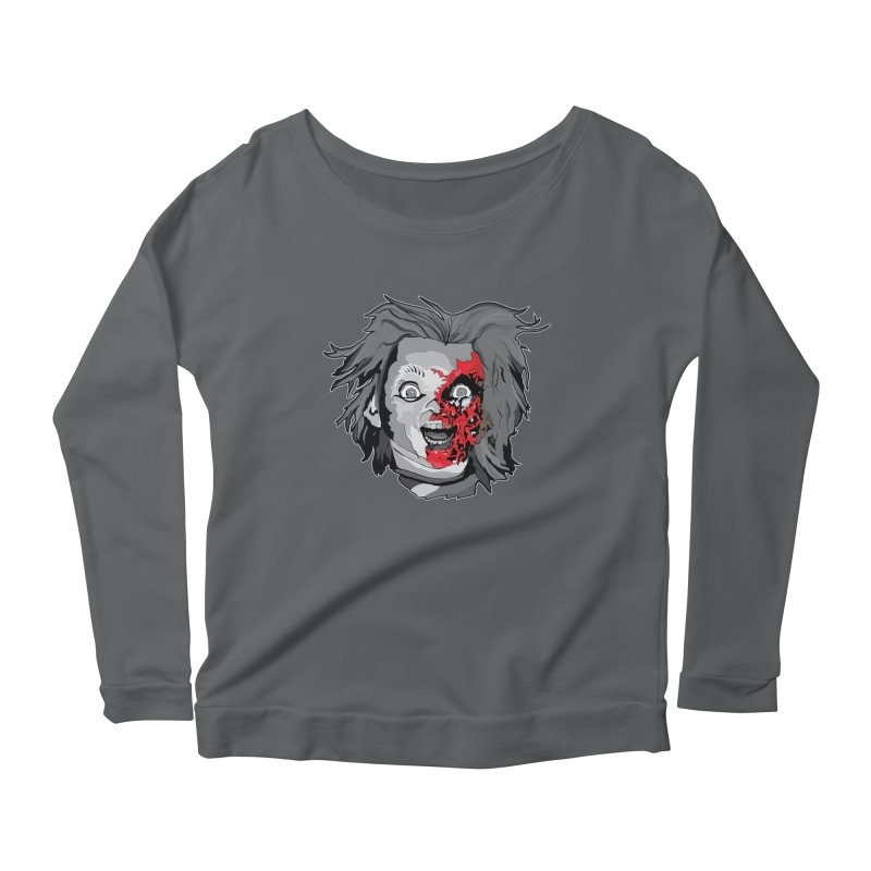 Hide the Soul (CHUCKY ONLY) Women's Longsleeve T-Shirt by Cold Lantern Collection