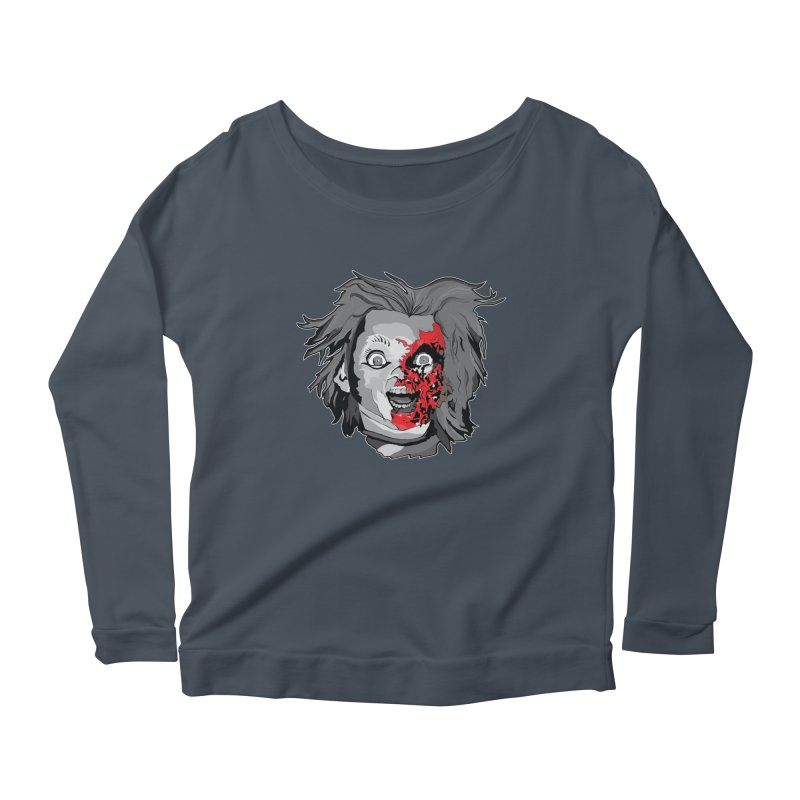 Hide the Soul (CHUCKY ONLY) Women's Scoop Neck Longsleeve T-Shirt by Cold Lantern Collection