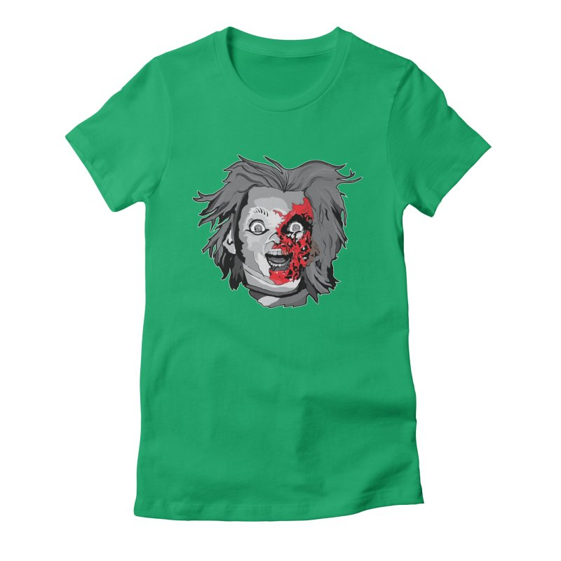 Hide the Soul (CHUCKY ONLY) Women's Fitted T-Shirt by Cold Lantern Collection