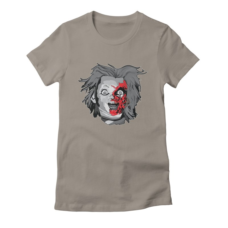Hide the Soul (CHUCKY ONLY) Women's Fitted T-Shirt by Cold Lantern Design