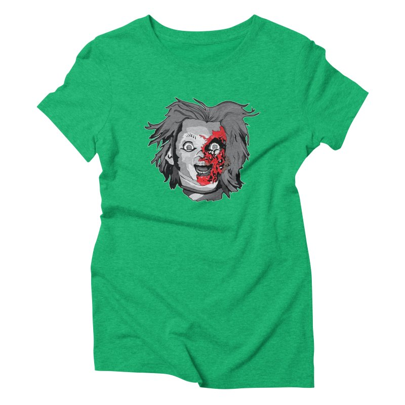 Hide the Soul (CHUCKY ONLY) Women's Triblend T-Shirt by Cold Lantern Collection