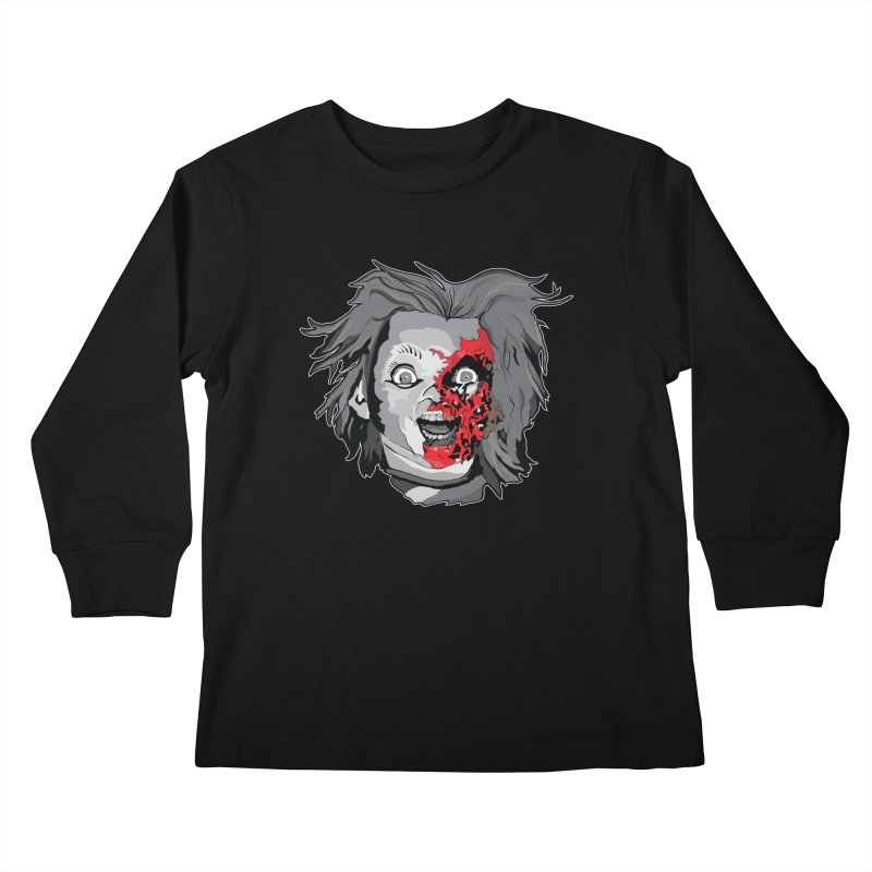Hide the Soul (CHUCKY ONLY) Kids Longsleeve T-Shirt by Cold Lantern Collection