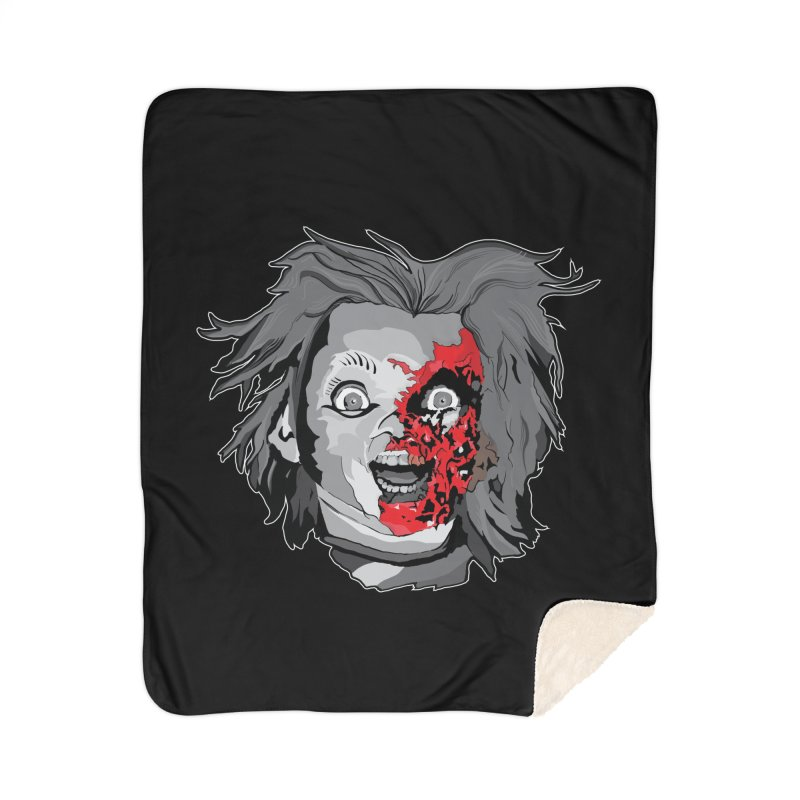 Hide the Soul (CHUCKY ONLY) Home Sherpa Blanket Blanket by Cold Lantern Design