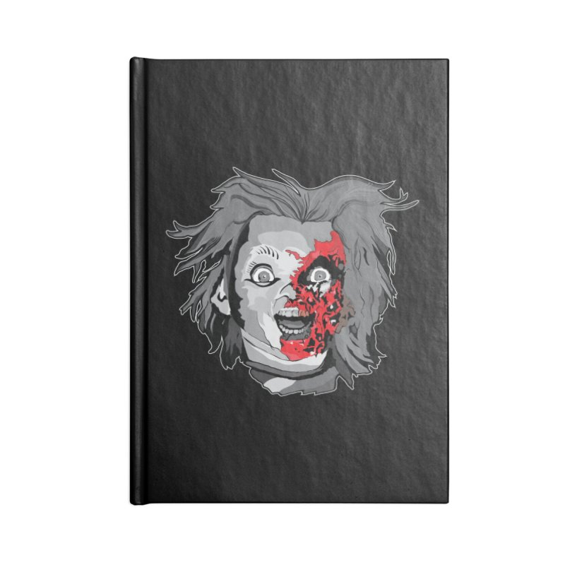 Hide the Soul (CHUCKY ONLY) Accessories Blank Journal Notebook by Cold Lantern Design